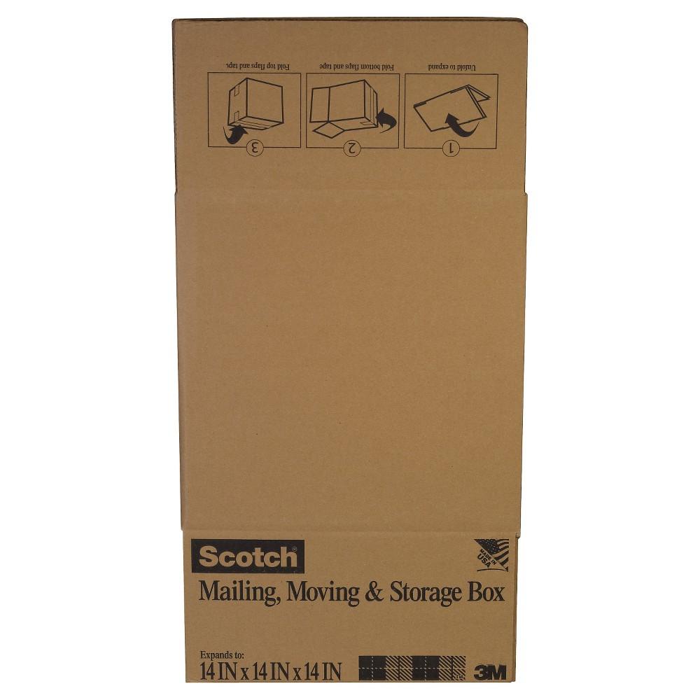 Scotch Mailing Gift Box 14 x 14 x 14 - Brown