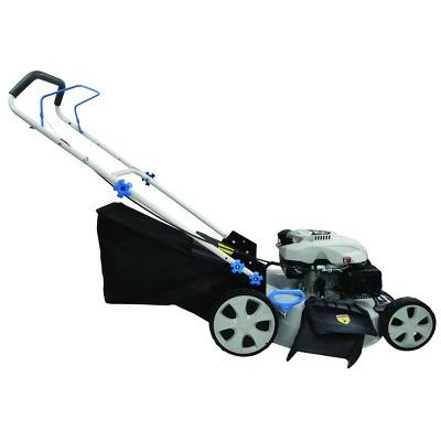 "21"" 3-in-1 Gas Lawn Mower White - Pulsar"