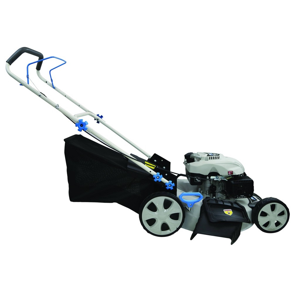 "Image of ""21"""" 3-in-1 Gas Lawn Mower White - Pulsar"""