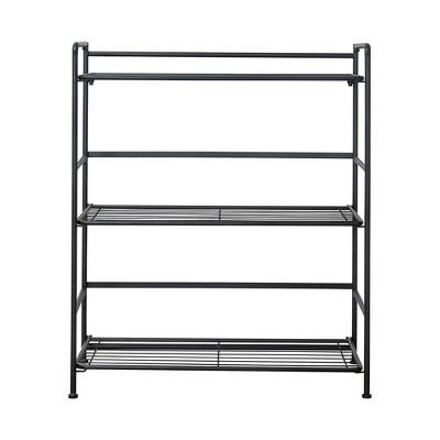 FlipShelf Wide 3 Shelf Black