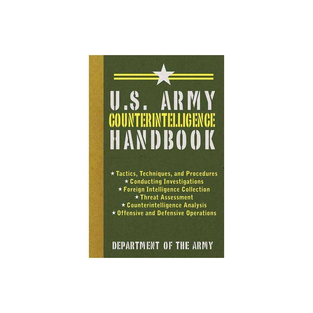 U S Army Counterintelligence Handbook Us Army Survival Paperback