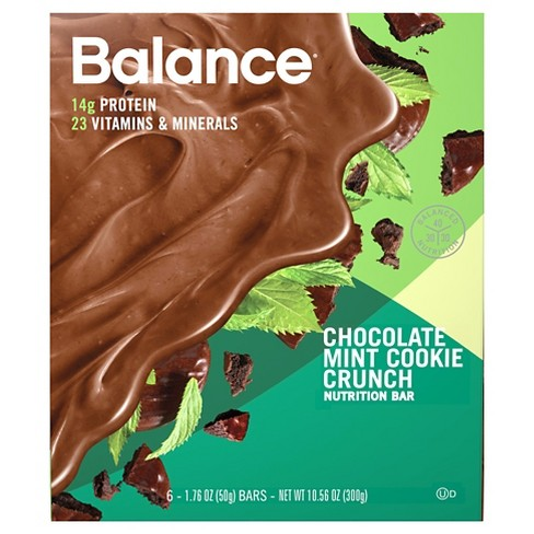Balance Bar® Nutrition Bar - Chocolate Mint Cookie Crunch - 6ct - image 1 of 1