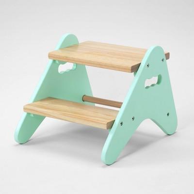 Peek A Boost Kids' Step Stool Mint - B. Spaces
