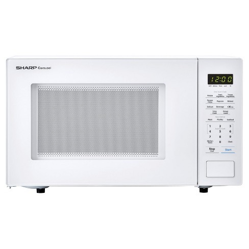 "1.1 cu ft 1000w touch microwave, 11.25"" turntable, Bezel-less Design - image 1 of 6"