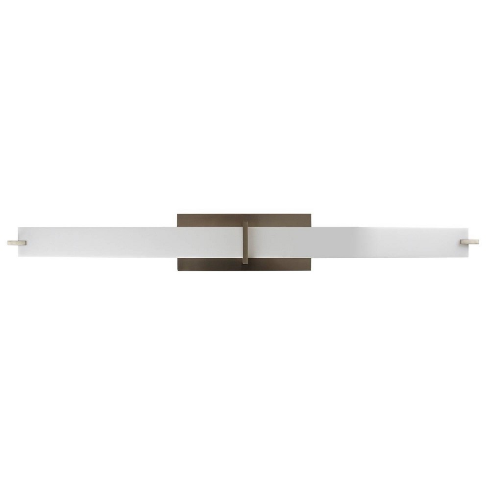 Image of LED Vanity Brushed Nickel - Sunset Lighting
