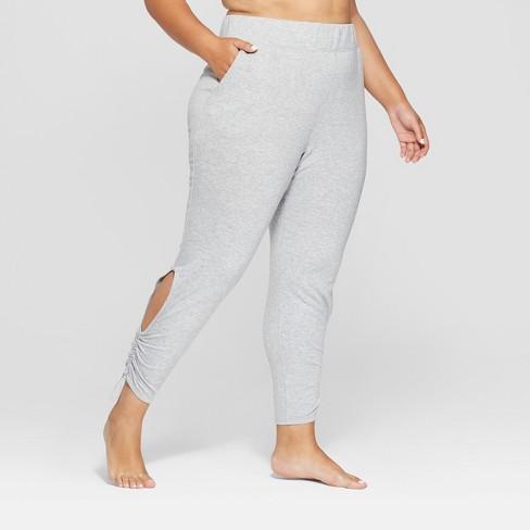 Women's Plus Cut-Out Fleece Pants - JoyLab™ - image 1 of 3