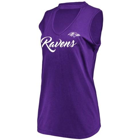 NFL Baltimore Ravens Women s Constant Effort Sleeveless T-Shirt   Target 08d5454a6