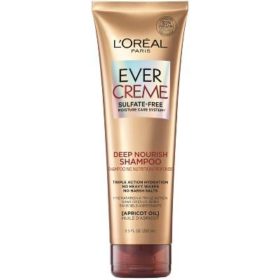 L'Oreal Paris EverCreme Sulfate Free Deep Nourish Shampoo - 8.5 fl oz