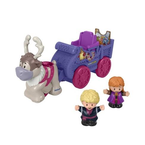 Fisher-Price Little People Disney Frozen Anna & Kristoff's Wagon Playset - image 1 of 4
