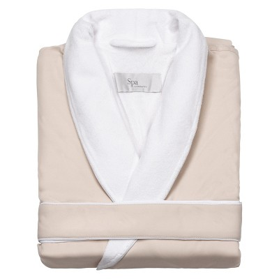 Platinum Bath Robe L/XL Cream - Cassadecor