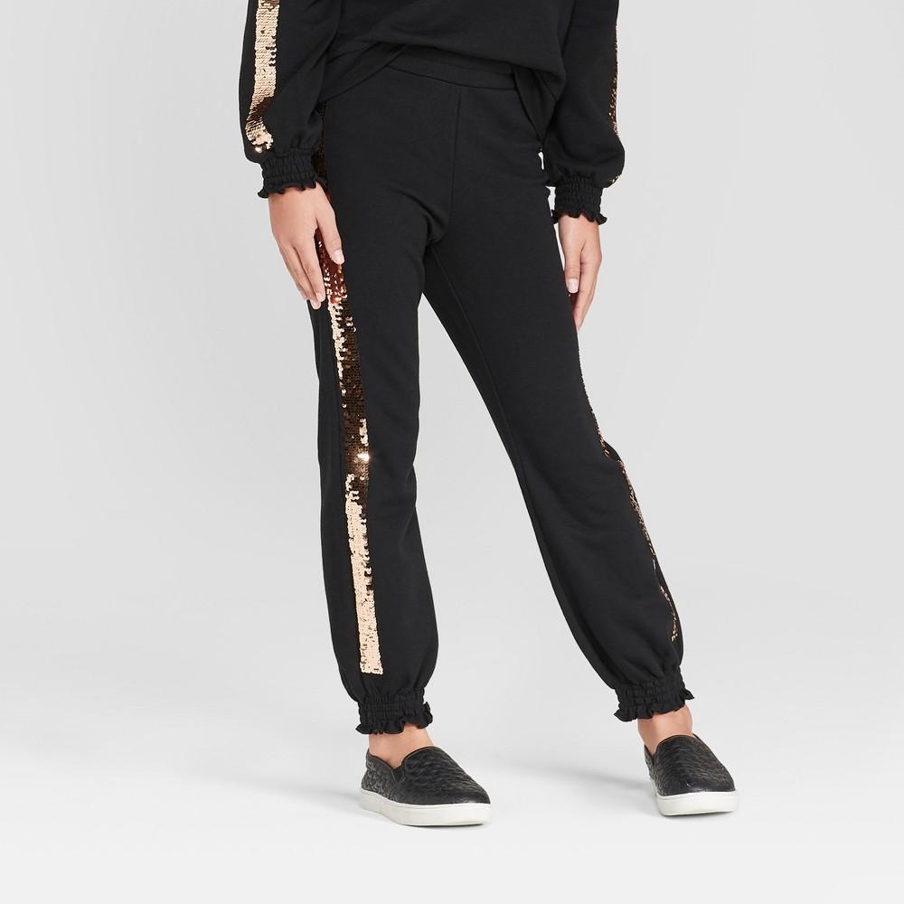 Girls' Jogger Pants - art class Black XL