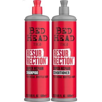TIGI Bed Head Resurrection Super Repair Shampoo + Conditioner Duo - 20.29 fl oz