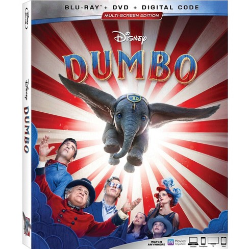 Dumbo Live Action (Blu-Ray + DVD + Digital) - image 1 of 2