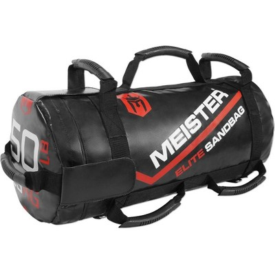 Meister Elite Fitness Sandbag with removable Kettlebells - 50lbs