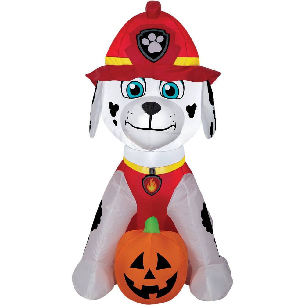 Image of Airblown Marshall Jack-O' Lantern Inflatable Paw Patrol Inflatable Holiday Decorations