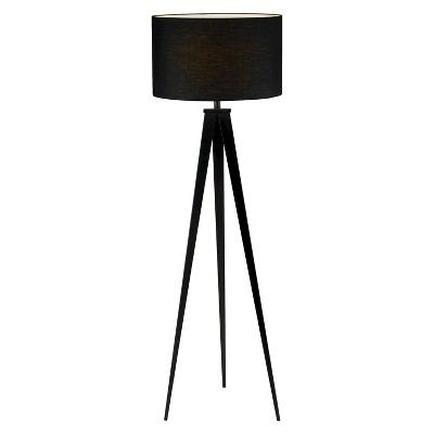 Adesso Director Floor Lamp - Black (Lamp Only)