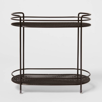 Two Tier Oval Shelf Mesh Orb Bronze - Threshold™