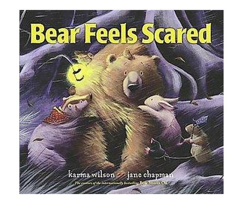 Bear Feels Scared (School And Library) (Karma Wilson) - image 1 of 1
