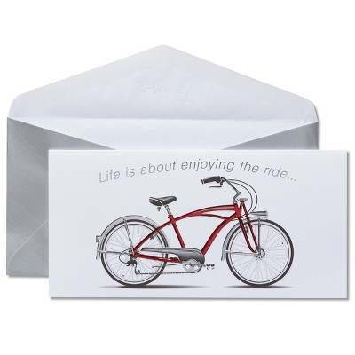 Birthday Card Red Bicycle - Papyrus