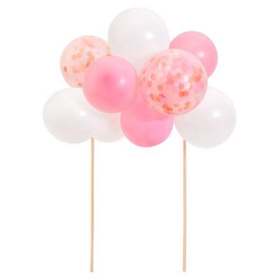 Meri Meri Pink Balloon Cake Topper Kit