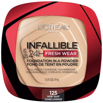 L'Oreal Paris Infallible Up to 24H Fresh Wear Foundation in a Powder - 0.31oz