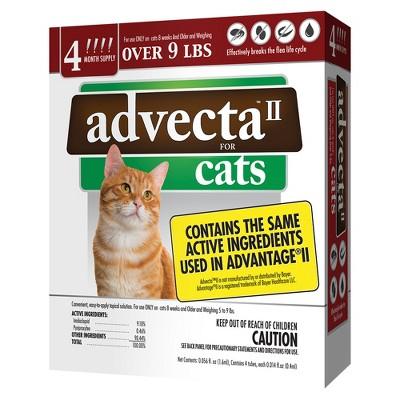 Advecta II Flea Drops for Cats