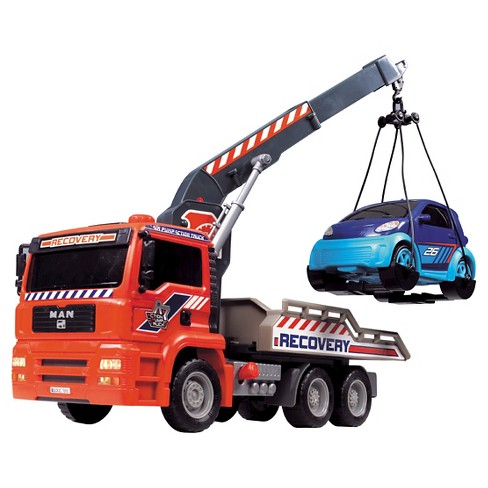 "Dickie Toys Air Pump Crane Truck 12"" - image 1 of 8"