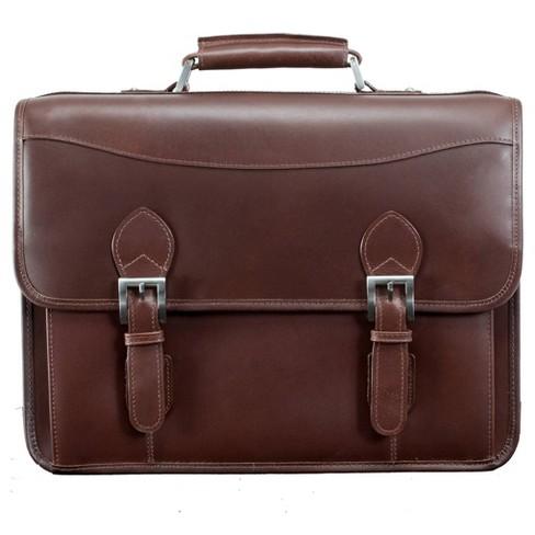 Siamod Leather Duffel Bag