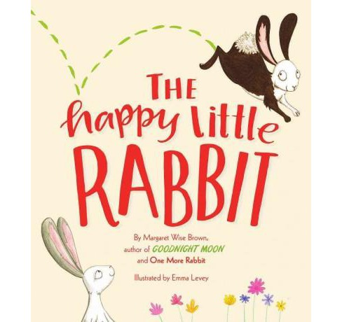 Happy Little Rabbit (Hardcover) (Margaret Wise Brown) - image 1 of 1