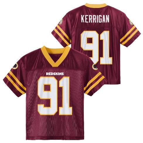 detailed pictures dcf24 cdb87 NFL Washington Redskins Toddler Boys' Kerrigan Jersey - 3T
