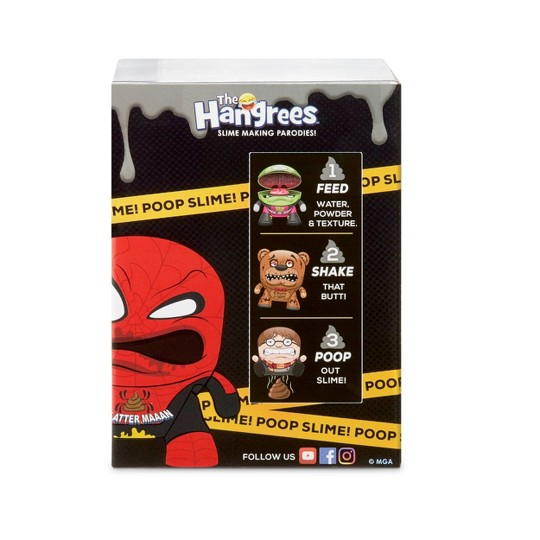 The Hangrees Despicable Pee #2 Collectible Parody Figure with Slime image number null