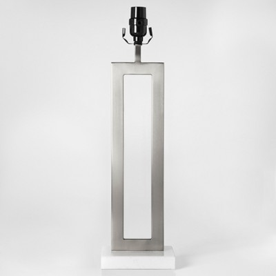 Weston Window Large Lamp Base Nickel Lamp Only - Project 62™