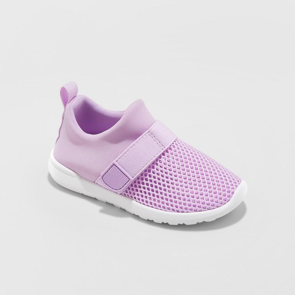 Toddler Girls' Ashanta Water Shoes - Cat & Jack Purple 9