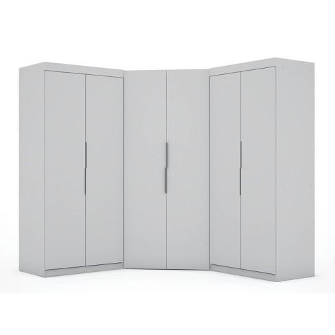 Set of 3 Mulberry 3.0 Sectional Corner Closet - Manhattan Comfort - image 1 of 4