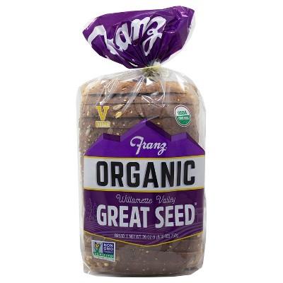 Franz Great Seed Organic Bread - 26oz
