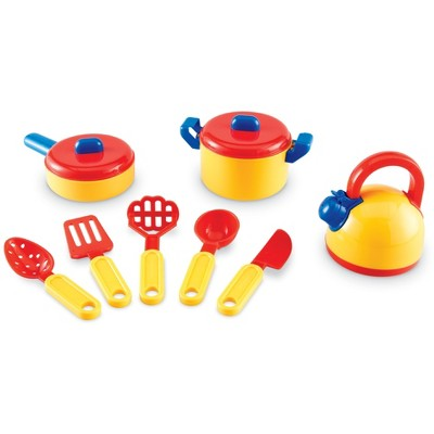 Learning Resources Pretend & Play Cooking Set,  10 Pieces, Ages 3+