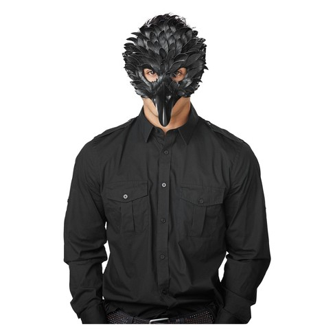 Adult Crow Masquerade Costume Mask - Hyde and Eek! Boutique™ - image 1 of 1