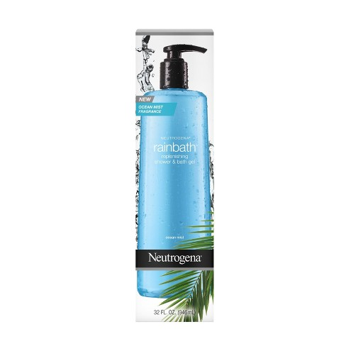 Neutrogena Rain Bath Shower & Bath Gel Ocean Mist - 32oz - image 1 of 4