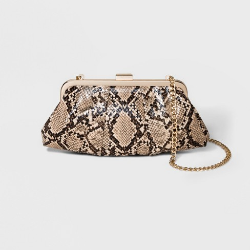 Pleated Clutch Crossbody Bag - A New Day™ - image 1 of 3