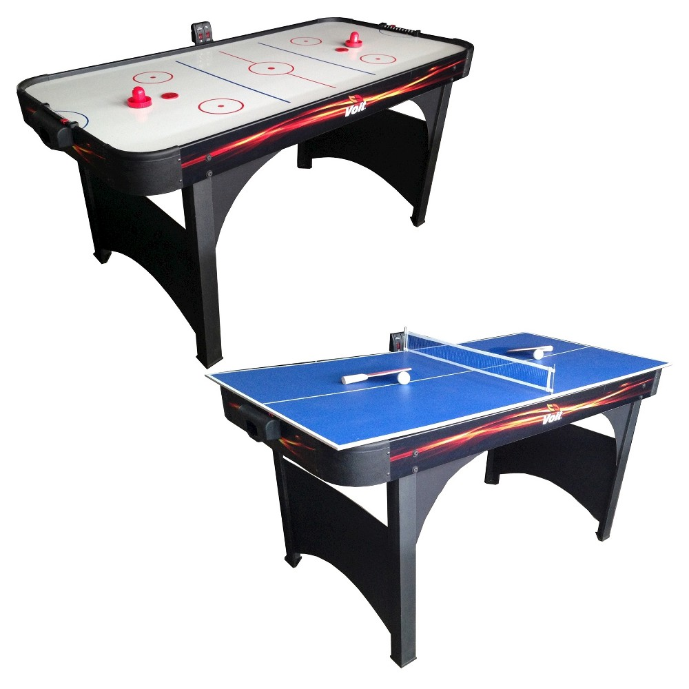 Voit Playmaker 60 Air Hockey Table With Table Tennis Ping Pong