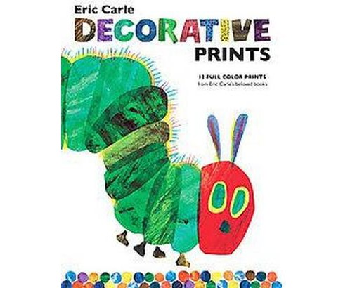 Eric Carle Decorative Prints (Anniversary) (Paperback) - image 1 of 1
