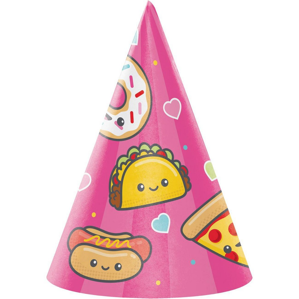 Image of 24ct Food Love Party Hats