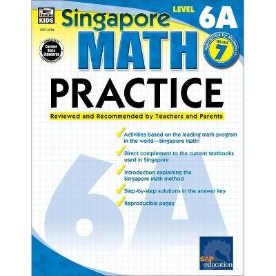 Math Practice, Grade 7 - (Singapore Math Practice) (Paperback)