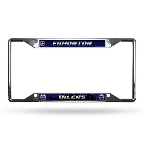 NHL Edmonton Oilers View Chrome License Plate Frame - image 1 of 1