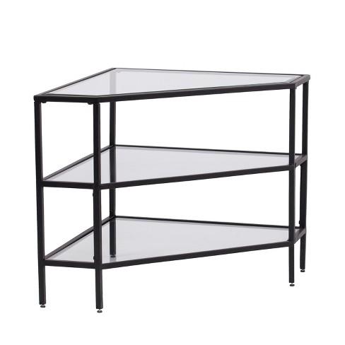Conrad Metal Glass Corner 32 5 Tv Stand Target