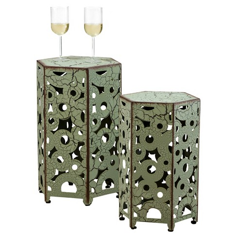 Parrish Outdoor Tables - Christopher Knight Home (Set of 2) - image 1 of 4