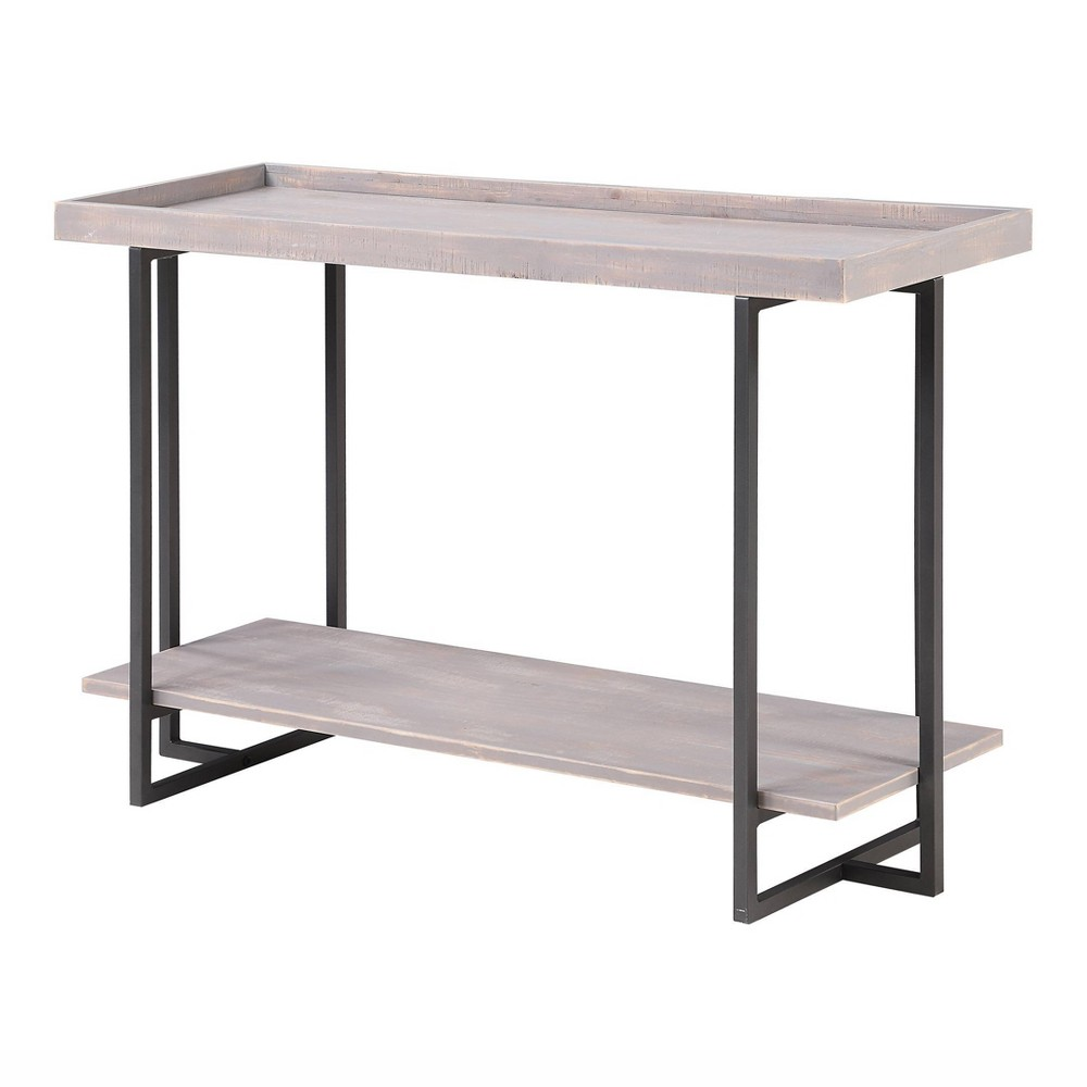 Grislare Rectangular Sofa Table Gray Homes Inside Out