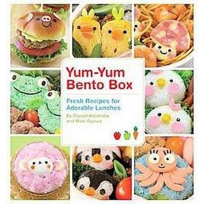 Yum-Yum Bento Box : Fresh Recipes for Adorable Lunches (Paperback)(Crystal Watanabe & Maki Ogawa)