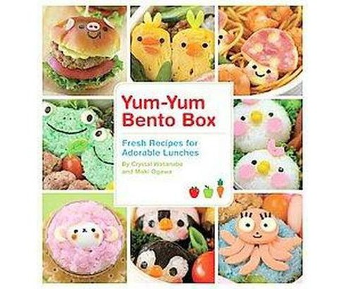 Yum-Yum Bento Box : Fresh Recipes for Adorable Lunches (Paperback) (Crystal Watanabe & Maki Ogawa) - image 1 of 1