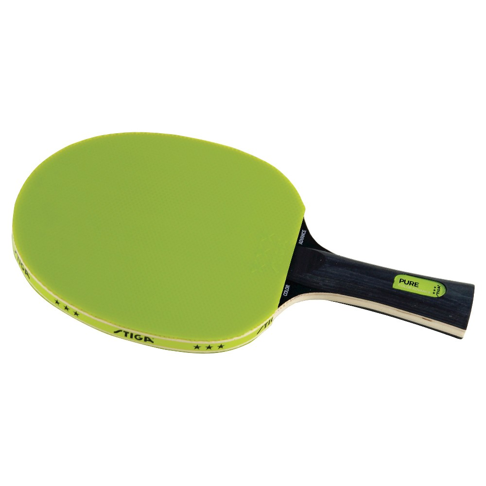 Stiga Pure Color Advance Table Tennis Racket - Green